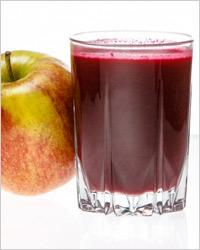 Томатный сок с яблочным и свекольным соком