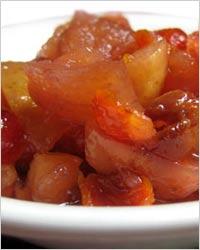 Варенье из яблок и сухофруктов