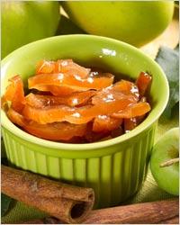 Варенье из яблок с ванилью и корицей