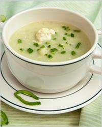 Супы из цветной капусты – Рецепты супов из цветной капусты