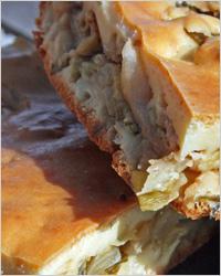 Пирог с капустой в аэрогриле