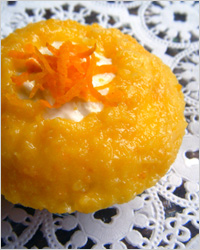 Оранжевые капкейки