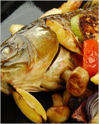 запечённая рыба