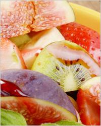 яркие фрукты, ягоды