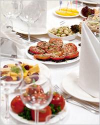 Блюда на праздничный стол день рождения
