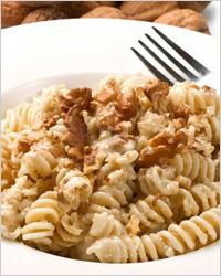 Орехово-сливочный соус для макарон