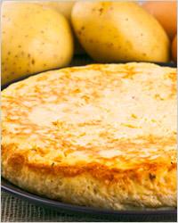 Тортилья из картошки