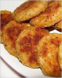 Котлеты из картофеля и мясного фарша