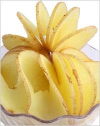 приспособление для нарезки картофеля спиральками