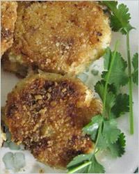 Пирожки из картофельного теста с грибами