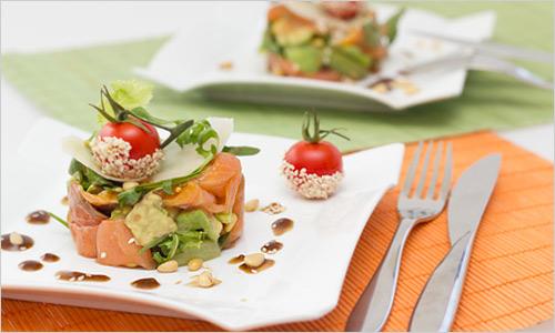 Оформление салатов