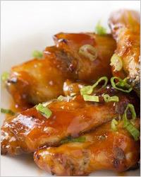 Куриные крылышки в кисло-сладком соусе