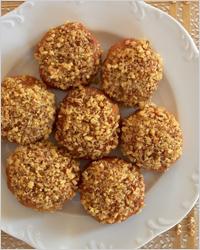 Ореховые шарики с мёдом