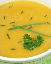 Фасолевый крем-суп