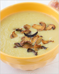 Картофельный крем-суп с шампиньонами
