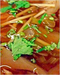 Постные грибные щи из свежей капусты с лапшой