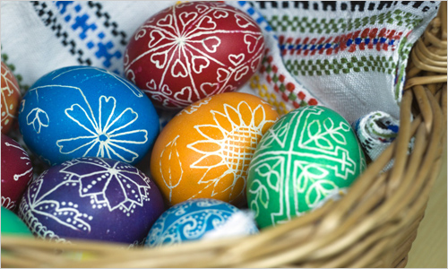 Как украсить яйца на Пасху – Пасхальные яйца. Фото ...