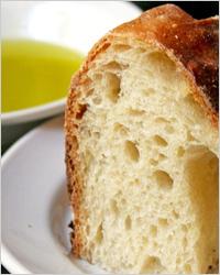 хлеб с оливковым маслом
