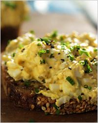 Горячие яичные бутерброды