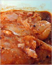 Маринад для курицы с вином и грецкими орехами