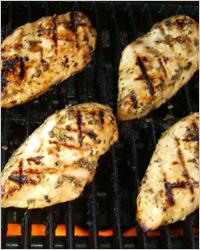 Сливочно-лимонный маринад для курицы
