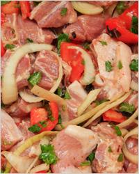 Маринад для свинины с помидорами