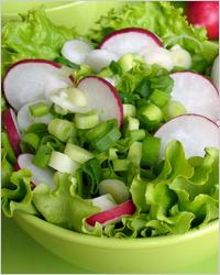 Лёгкие летние салаты