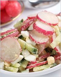Самый лёгкий летний салат