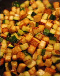 Салат-закуска из кабачков