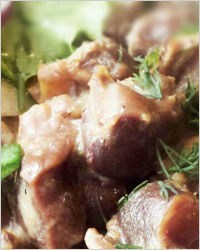 Куриные желудочки по-китайски – кулинарный рецепт