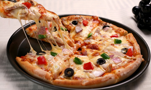 пицца рецепт на сковороде фото