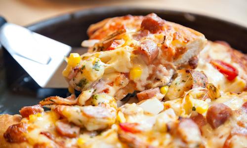 Рецепт лінивої піци