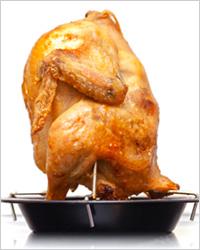 курица гриль в духовке рецепт без приправы