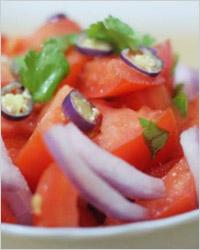 Салаты из свежих овощей