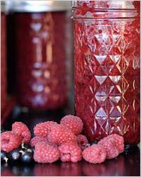Варенье из чёрной смородины и малины