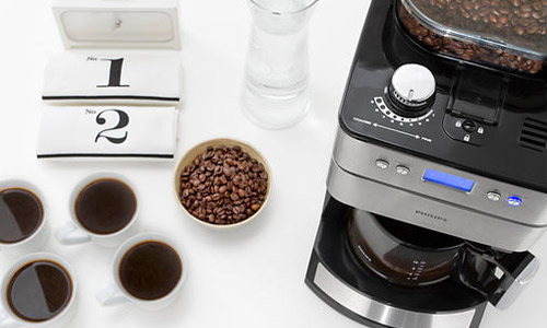 Philips HD 7751 Grind & Brew