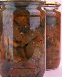 Соте из баклажанов на зиму