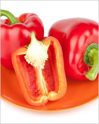Перец, фаршированный фруктами