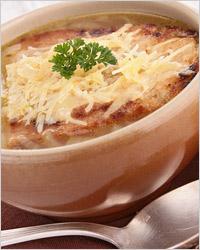 Супы с сыром