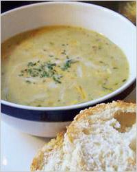 Суп овощной с сыром и грибным бульоном «Для дружной компании»