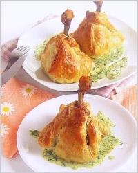 Куриные ножки в «платочках»