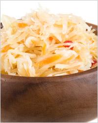 Солёная капуста с грибами, морковью и яблоками «Царская»