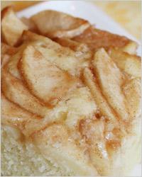 Пирог со сметаной и яблоками