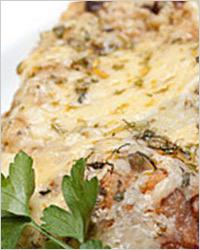 Картошка с мясом и плавленым сыром