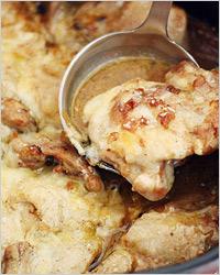 Курица по-французски с сыром