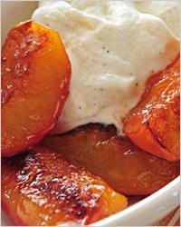 «Медовая» тыква с персиками