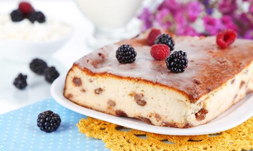 Манник-шарлотка с шоколадом – кулинарный рецепт