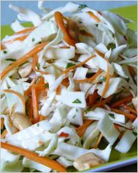Салат из белокочанной капусты «Витаминный»