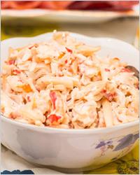 Салат из кальмаров «Морская жемчужина»