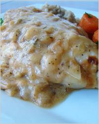 Сливочно-луковый соус